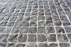 Stone paving texture. Royalty Free Stock Photo