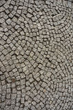 Stone paving texture. Royalty Free Stock Photography