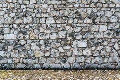 Stone paving texture. Royalty Free Stock Photo