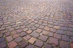 Stone paving texture. Royalty Free Stock Photos
