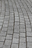 Stone Paving, texture and shapes Stock Photos