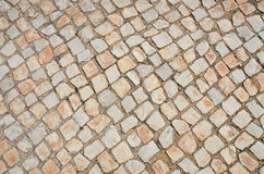 Stone paving tiles Stock Photography