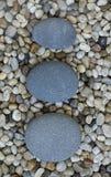 Stone on pebble Royalty Free Stock Photo