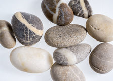 Stone pebble arrangement Stock Photos