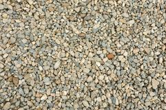 Stone pebble gravel texture background Stock Photos