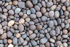Stone pebbles texture or stone pebbles background. stone pebbles for interior exterior decoration design. royalty free stock photography