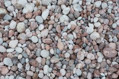 Stone pebbles texture background for interior exterior decoration and industrial construction concept. Design royalty free stock photos