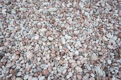 Stone pebbles texture background for interior exterior decoration and industrial construction. Concept design stock image