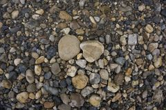 Stone pebbles texture or stone pebbles background. stone pebbles for interior exterior decoration and industrial construction conc royalty free stock photos