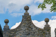 Stone pediment Royalty Free Stock Photography