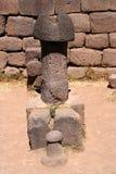 Large stone phallus Royalty Free Stock Photo