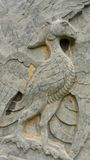 Stone pheonix at songling Stock Image