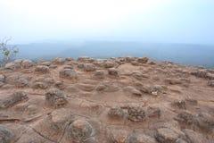 Stone in Phu Hin Rong Kla National Park Royalty Free Stock Image