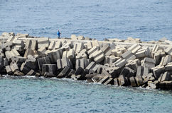 Stone Pier Stock Images