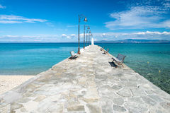 Stone Pier Royalty Free Stock Photo