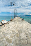 Stone Pier Royalty Free Stock Images
