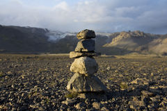 Stone pile Stock Image