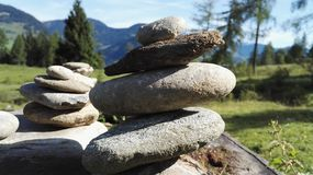 Stone pile Royalty Free Stock Photography