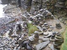 Stone Piles Stock Image