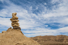 Stone pillar Royalty Free Stock Images