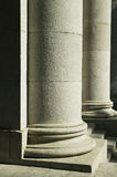 Stone pillar at Hong Kong Legislative Council Royalty Free Stock Photo