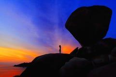 Stone Pillar Royalty Free Stock Photography