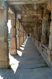 Stone Pillared Corridor Royalty Free Stock Photo