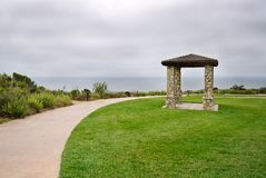 Stone Pillared Gazebo Royalty Free Stock Photo