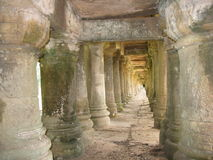 Stone pillars Royalty Free Stock Photos