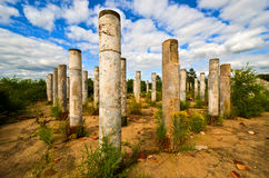 Stone Pillars Royalty Free Stock Photography
