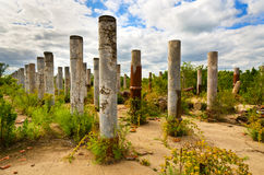 Stone Pillars Stock Images