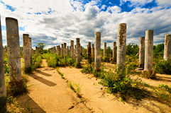 Stone Pillars Stock Image