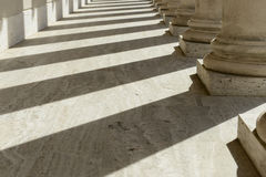 Stone Pillars in a Row Royalty Free Stock Image