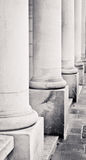 Stone pillars Royalty Free Stock Images