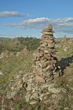 Stone piramide Royalty Free Stock Images