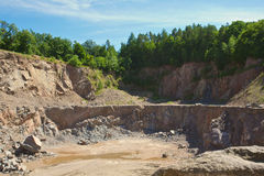 Stone pit Stock Images
