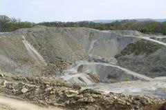 Quarry scenery Stock Images