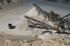 Stone pit Stock Photography