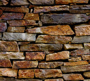 Stone Plank Background. Multi-Colored Old Stone Plank Background closeup Outdoors royalty free stock photo