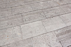 Stone plates on a sideway with seams. As background texture Royalty Free Stock Photos