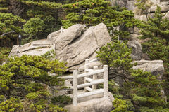 Free Stone Platform In Yellow Mountain Park Royalty Free Stock Images - 27544149