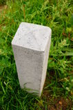 Stone pole Stock Photo