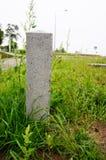 Stone pole Stock Image