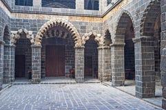 The stone portico Stock Photo