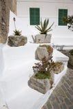 Stone pot holders Stock Image