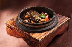Stone pot turtle Stock Photography