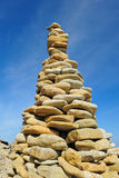 Stone Pyramid Stock Photo