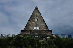 Stone pyramid monument Royalty Free Stock Image