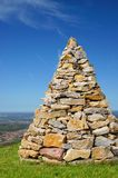 Stone pyramid Royalty Free Stock Image