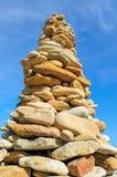 Stone Pyramid Stock Photography
